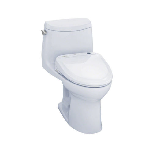 Toto MW604574CUFG#01 Ultramax Ii Elongated One Piece Toilet Cotton White