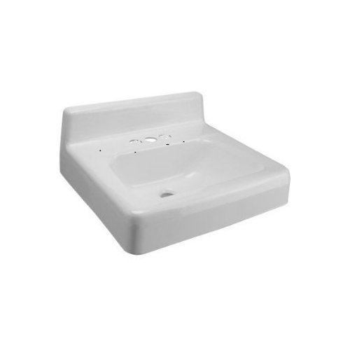 Zurn Z5841  Wall Mount Cast Iron Bathroom Sink