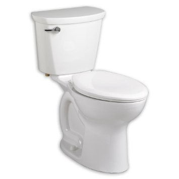 American Standard 215AA.104.020 Cadet Elongated Two Piece Toilet White
