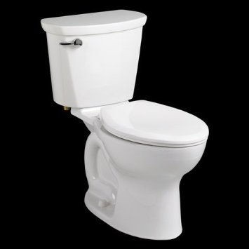 American Standard 215CA.104.020 Cadet Elongated Two Piece Toilet White