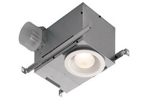 Broan NuTone 744 Energy Star 70 CFM Recessed Mounted Bath Ventilation Fan FL White