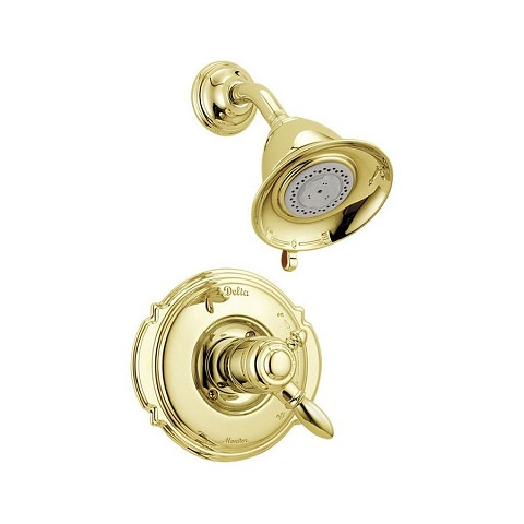 Delta T17255 Victorian Shower Faucet -PB Polished Brass