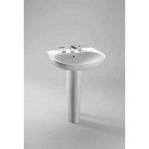 Toto LT242.4G#01 Prominence Wall Mount Vitreous China Bathroom Sink Cotton White