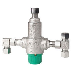 "Zurn 38-ZW3870XLT-4P Wilkins ZW3870XLT 3/8"" Compression Thermostatic Mixing Valve"