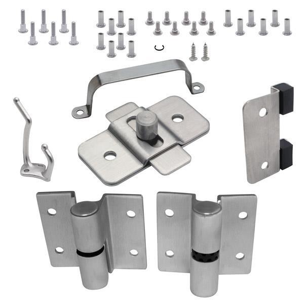"Jacknob 20479 Door Hardware (Lh-Out) 3/4"" Door & Post (7113) - Crss"