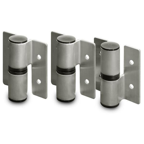 Jacknob 13649 Hinge-Surface Mounted (Lh-In/Rh-Out) Rd. Barrel (2T/1B Of 8179) Ss