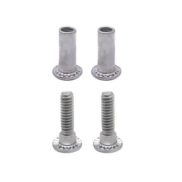 "Jacknob 60610 Screw Pack - Hinge Or Strike & Keeper 3/4"" Or 7/8"""" 6Lp"