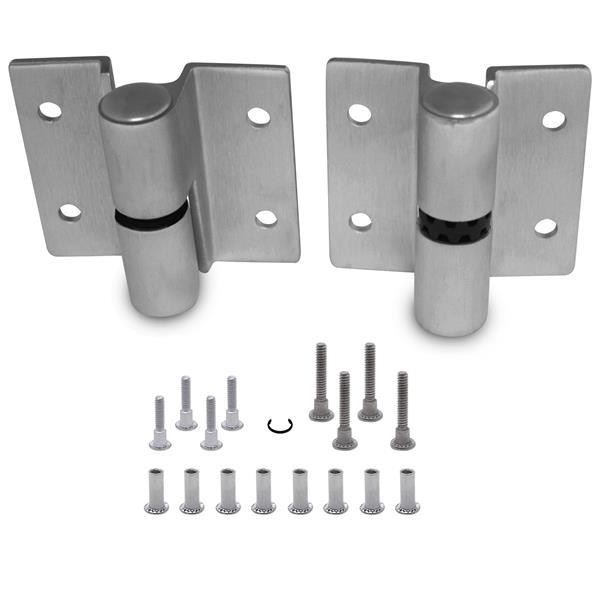 Jacknob 7113 Hinge-Surface-Heavy Stainless-(Rh-In/Lh-Out)