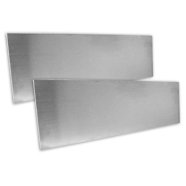 "Jacknob 30999 Spacer Plate 3"" X 10"" (2) Piece Pack"