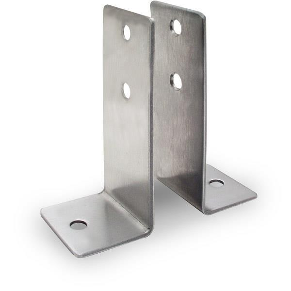Jacknob 1329 Wall Bracket 2 Piece X-High - Crss