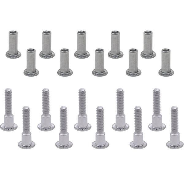 Jacknob 520 Screw Pack - Continuous U-Bracket 1""