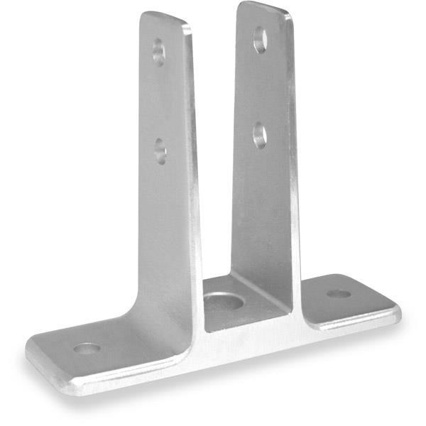 "Jacknob 1283 Urinal Screen Bracket 1"" Stainless"