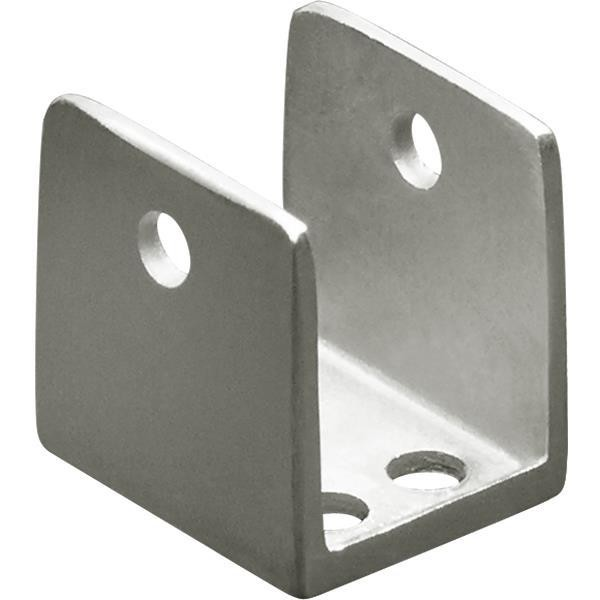 "Jacknob 1903 U-Bracket 7/8"" Stainless"